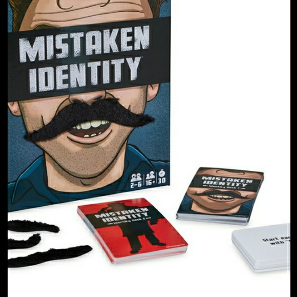Mistaken Identity Card guessing Game